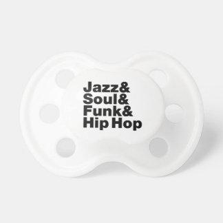 Jazz u. Soul u. Funk u. angesagtes Hopfen Schnuller