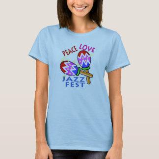 Jazzfest-FriedensLiebe T-Shirt