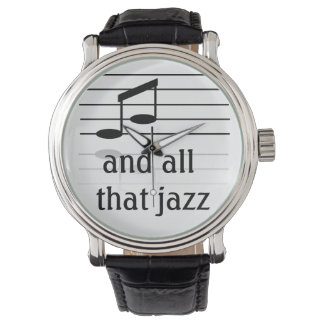 Jazzliebhaber - die Armbanduhr der Männer