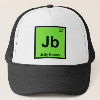 Jb - Geleebonbon-Chemie-Periodensystem-Symbol Truckerkappe
