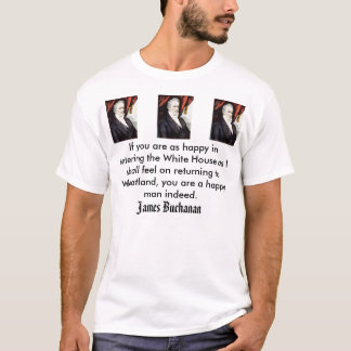 jb, James Buchanan T-Shirt