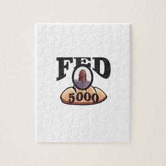 jc 5000 gefüttert puzzle