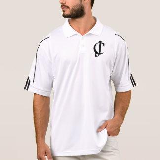 JC (Jesus Christus) Logo durch Line_of_David Polo Shirt