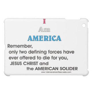 JC und der amerikanische Soldat iPad Mini Hülle