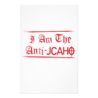 JCAHO ist ein Wort 4-Letter Briefpapier