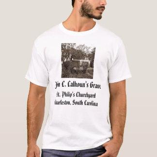 jcc, John C. Calhouns Grave, St Philip Chur… T-Shirt