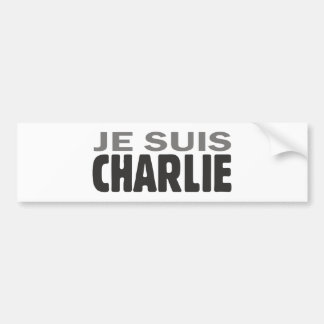 Je Suis Charlie Autoaufkleber