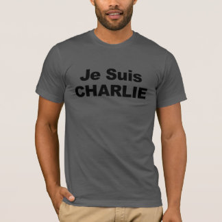 Je Suis Charlie - ich bin Charlie T-Shirt