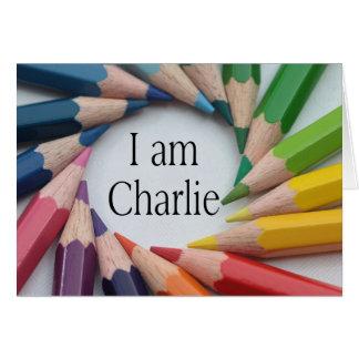 Je Suis Charlie Karte
