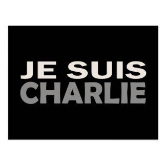 Je Suis Charlie Postkarte