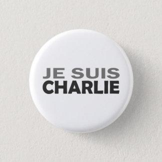 Je Suis Charlie Runder Button 2,5 Cm