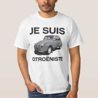 Je suis citroëniste - ursprüngliches graues T-Shirt