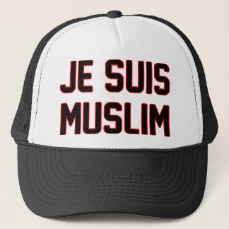 Je Suis Moslems Truckerkappe