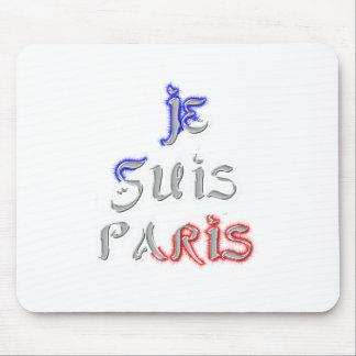 Je Suis Paris I Liebe Paris Mousepad