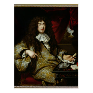 Jean-Baptiste Colbert Marquis de Seignelay Postkarte