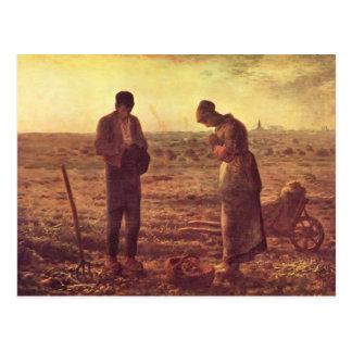 Jean-Francois-Hirse der Angelus Postkarte