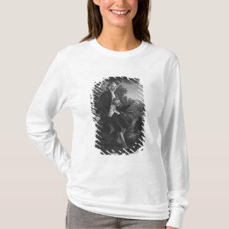 Jean-Jacques Rousseau, der 'Emile verfasst T-Shirt