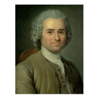 Jean-Jacques Rousseau Postkarte