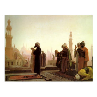 Jean-Leon Gerome- Gebet in Kairo Postkarte