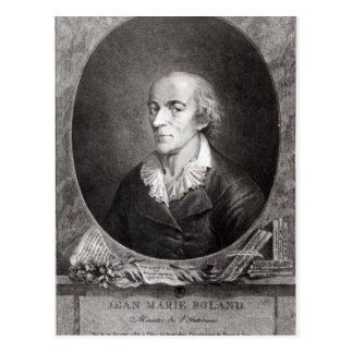Jean Marie Roland de La Platiere Postkarte