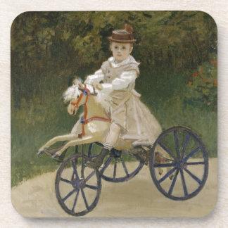 Jean Monet auf seinem Hobbypferd Getränkeuntersetzer