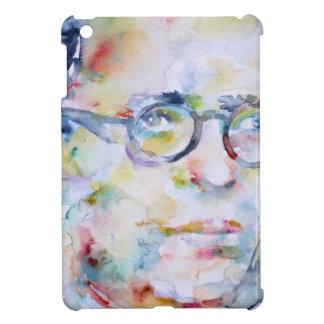 Jean Paul Sartre - Aquarellporträt iPad Mini Hülle