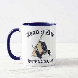 Jeanne d'Arc hörte Stimmen Tasse