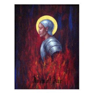 Jeanne d'Arc Postkarte