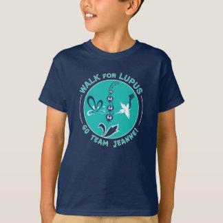 """""""Jeanne das Team"""" des Milos Lupus-Weg T-Shirt"""