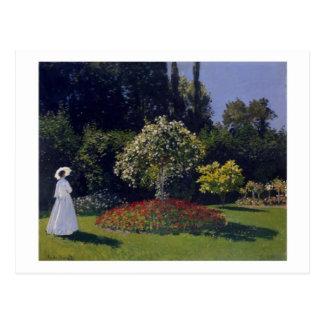 Jeanne-Gänseblümchen Lecadre in der Postkarte