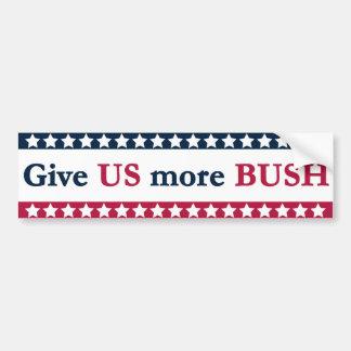 Jeb Bush für Präsidenten Autoaufkleber