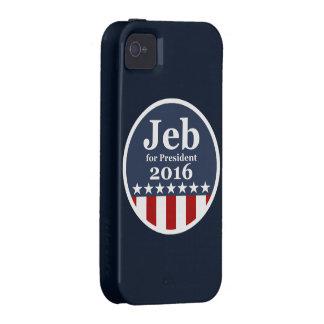 Jeb für Präsidenten 2016 iPhone 4/4S Hüllen