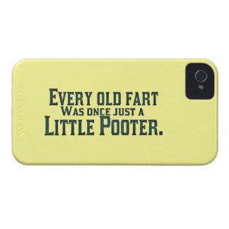 Jede alte Furz war einmal gerade ein kleines Case-Mate iPhone 4 Hülle
