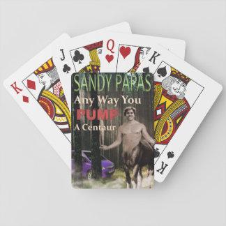 Jede mögliche Weise pumpen Sie einen Zentaur Spielkarten