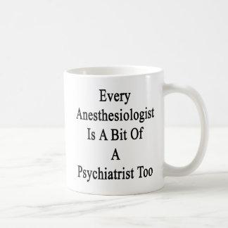 Jeder Anästhesiologe ist ein Stückchen eines Kaffeetasse