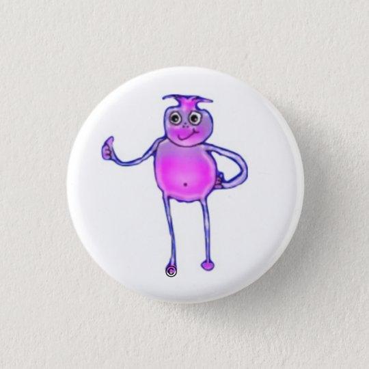 Jeder freundliche Außerirdische der Lieben! Runder Button 2,5 Cm