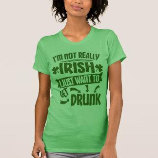 Jeder ist irisches St. Patricks Day-lustiges Zitat T-Shirt