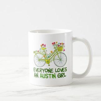 Jeder Lieben ein Austin-Mädchen Kaffeetasse