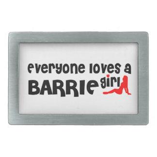 Jeder Lieben ein Barrie Mädchen Rechteckige Gürtelschnallen