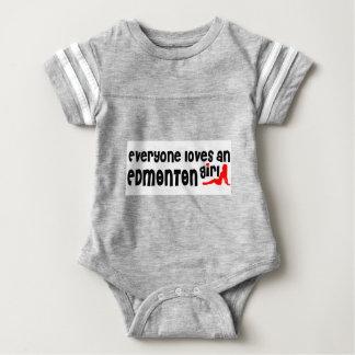 Jeder Lieben ein Edmonton-Mädchen Baby Strampler