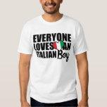 Jeder Lieben ein italienischer Junge T Shirt
