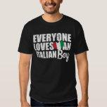 Jeder Lieben ein italienischer Junge T Shirts