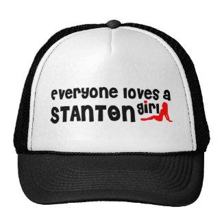 Jeder Lieben ein Stanton Mädchen Netzcap