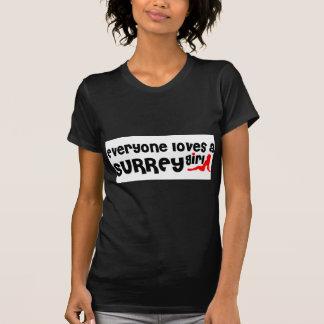 Jeder Lieben ein Surrey-Mädchen T-Shirt