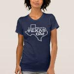 Jeder Lieben ein Texas-Mädchen Tshirts