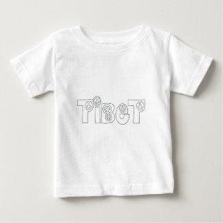 Jeder Lieben Tibet Baby T-shirt