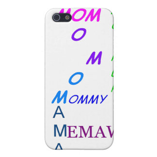 Jeder Tag ist Mutter-Tag iPhone 5 Cover