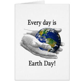Jeder Tag ist Tag der Erde Karte