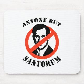 Jedermann aber Santorum Mauspad
