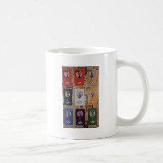jedermann für ein Glas Kaffeetasse